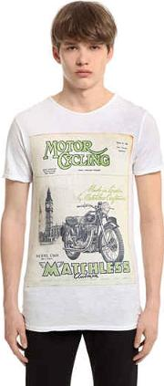 Extra Vintage Cotton Jersey T Shirt
