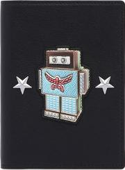 Roboter Leather Passport Holder