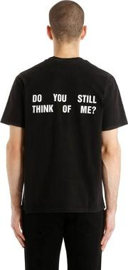 Do You Still Think Of Me Jersey T Shirt