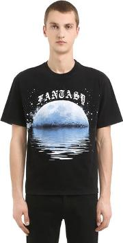 Fantasy Printed Cotton Jersey T Shirt