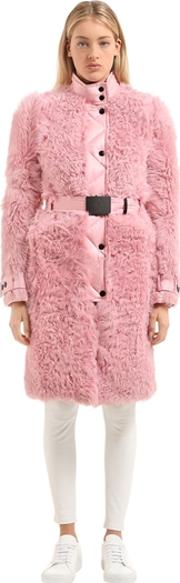 La Chapelle Fur Down Coat
