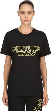 Oversized Couture Wars Jersey T Shirt