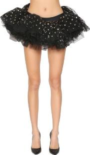 d029bc6bf Studded Tulle Mini Skirt. moschino. Studded Tulle Mini Skirt