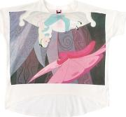 Alice Printed Cotton Jersey T Shirt