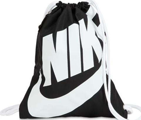 6a97a9c6c3c9 nike Heritage Nylon Drawstring Backpack