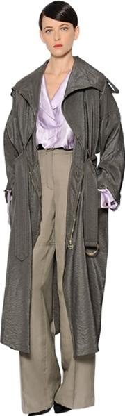 Parachute Trench Coat