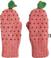 Apple Baby Alpaca Doubled Tricot Mittens