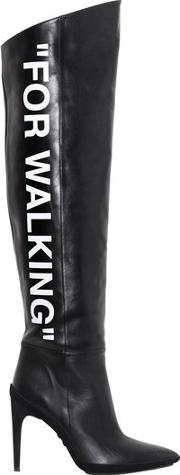 100mm For Walking Leather Boots