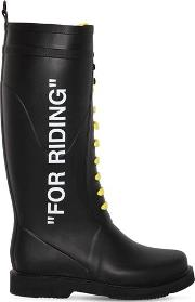 40mm For Riding Rubber Rain Boots