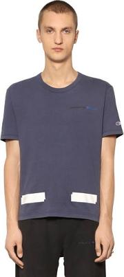 Champion Co Lab Cotton Jersey T Shirt