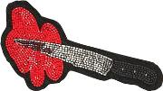 Knife Beaded Patch
