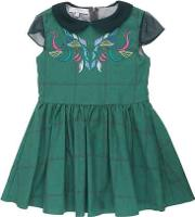Embroidered Organic Cotton Drill Dress