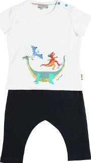 Dinosaurs Cotton Jersey T Shirt & Pants