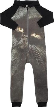 Cat Organic Cotton Romper