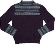 Cotton And Wool Crewneck Sweater