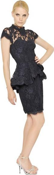 Cotton Laced Tulle Dress