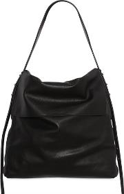 Small Leather Hobo Bag
