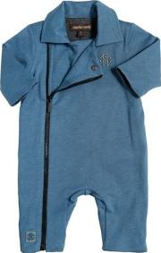 Doubled Cotton Jersey Romper