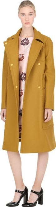 Double Breasted Wool Cloth Coat