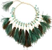 Faggio Feathered Necklace