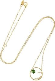 Moyen Cheeky Gold Necklace