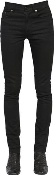 15cm Skinny Cotton Denim Jeans