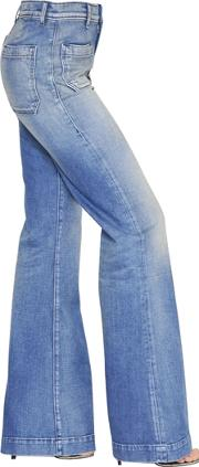 Circe Flared Cotton Denim Jeans