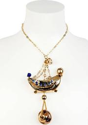 Gypsy Circus Gold Plated Necklace