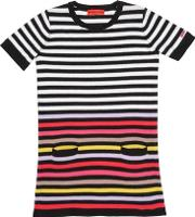 Striped Knitted Cotton Dress