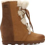 Joan Of Arctic Shearling Wedge Boots