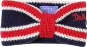 Embroidered Tricot Wool Knit Headband