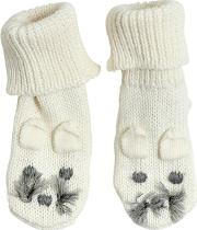 Mouse Cotton & Wool Knit Socks