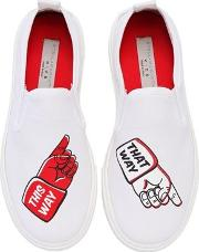 This Way That Way Canvas Slip On Sneaker