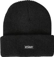 Beanie Hat With Logo Detail