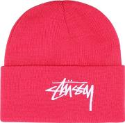 Embroidered Logo Beanie Hat