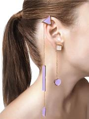 Collezione Three 3 Shape Earrings