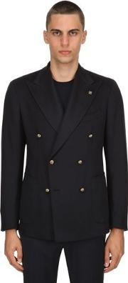 Double Breasted Cashmere Jacket