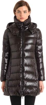 Babila Shiny Nylon Down Jacket