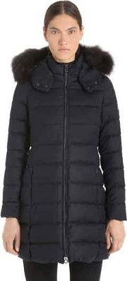 Laviana Cinzato Down Jacket W Fur Trim