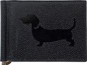 Hector Dog Leather Billfold Wallet