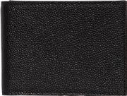 Pebbled Leather Classic Wallet W Flap