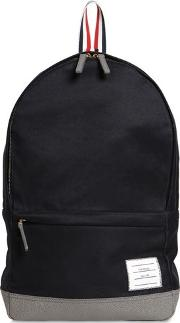 Unstructured Cotton Twill Backpack