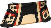 Filo Armour Speed Faux Leather Clutch