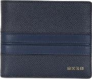 Embossed Leather Classic Wallet
