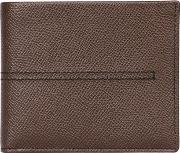 Stitched Embossed Leather Classic Wallet