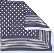 Polka Dot Bandana With Stripey Border