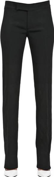 Stretch Cady Trousers