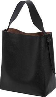 Medium Leather Hobo Bag