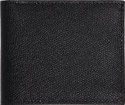 Textured Leather Classic Wallet