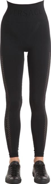 Perforated Seamless Active Leggings